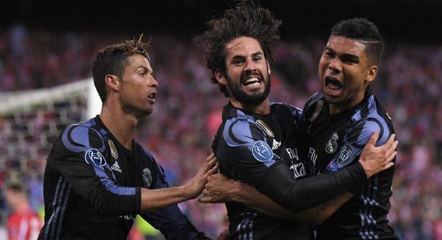 Реал повторил голевой рекорд Баварии