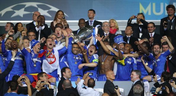 Пять лет назад Челси побеждал в Лиге чемпионов, Getty Images