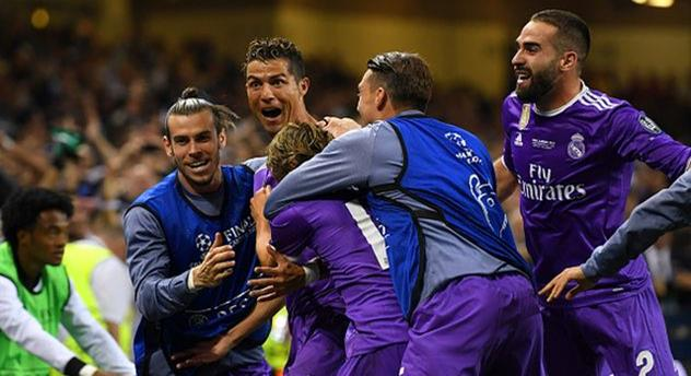 Реал — победитель Лиги чемпионов 2016/2017!