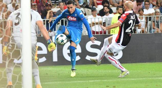 Наполи вышел в групповой этап Лиги чемпионов