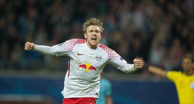 РБ Лейпциг одержал первую победу в Лиге чемпионов