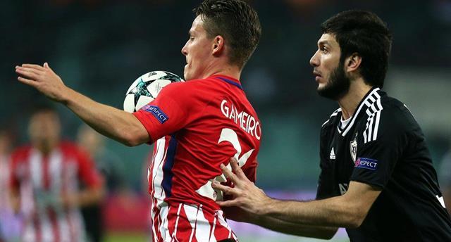 Атлетико не сумел забить в ворота Карабаха