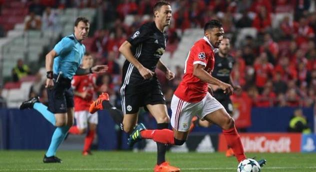 Манчестер Юнайтед минимально обыграл Бенфику