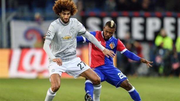 «Манчестер Юнайтед» уступил «Базелю» вматче футбольной Лиги чемпионов