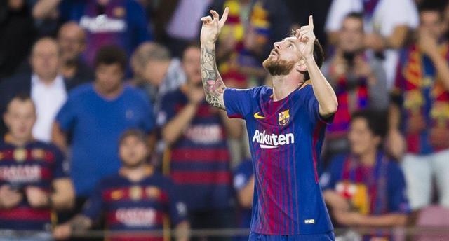 Лионель Месси, фото: twitter.com/FCBarcelona