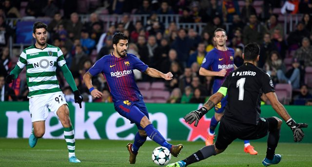 Барселона - Спортинг Л, Getty Images