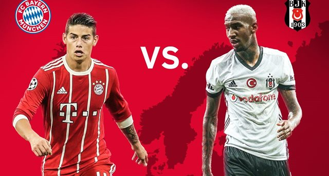 Бавария — Бешикташ прогноз букмекеров на матч Лиги чемпионов
