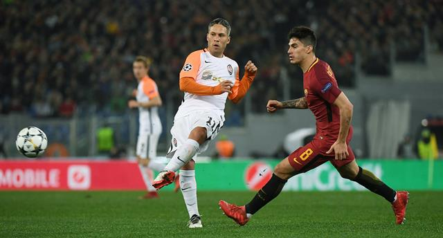Рома — Шахтер 1:0 Видео гола и обзор матча