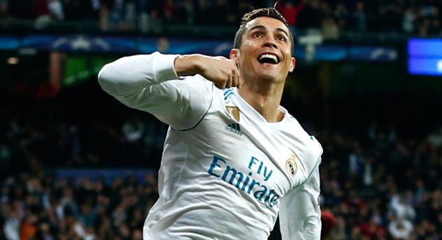 Роналду первым вистории Лиги чемпионов отличился в 10-ти матчах кряду