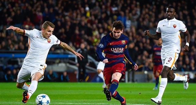 «Барселона» вшаге отполуфинала— Лига Чемпионов
