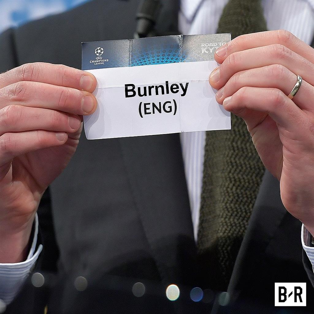 Ждем Бернли в Лиге чемпионов?