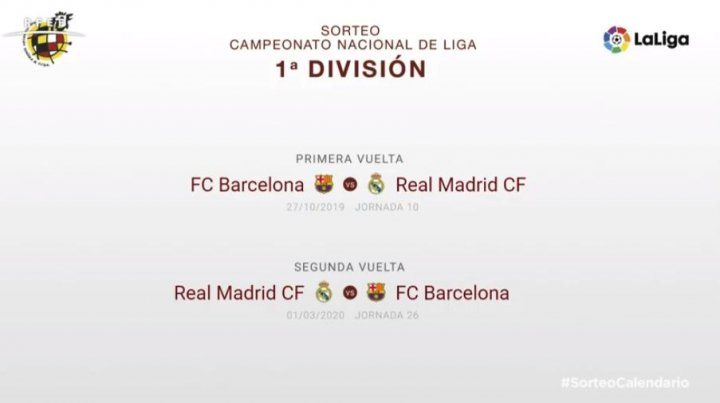 Когда реал мадрид испанкий лиги