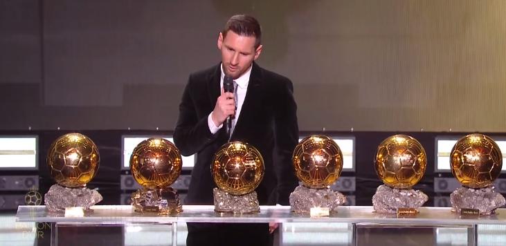 Лионель месси с золотым мячом