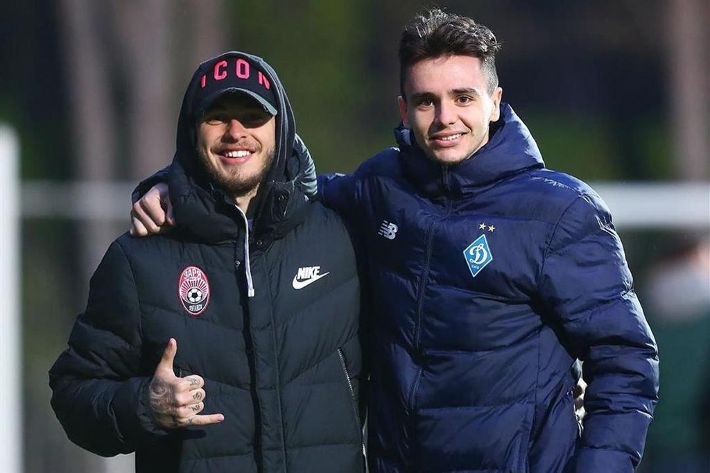 Богдан Леднев и Николай Шапаренко, instagram.com/liedniev_bogdan_7_