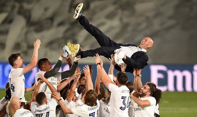 Реал — чемпион Испании сезона-2019/2020