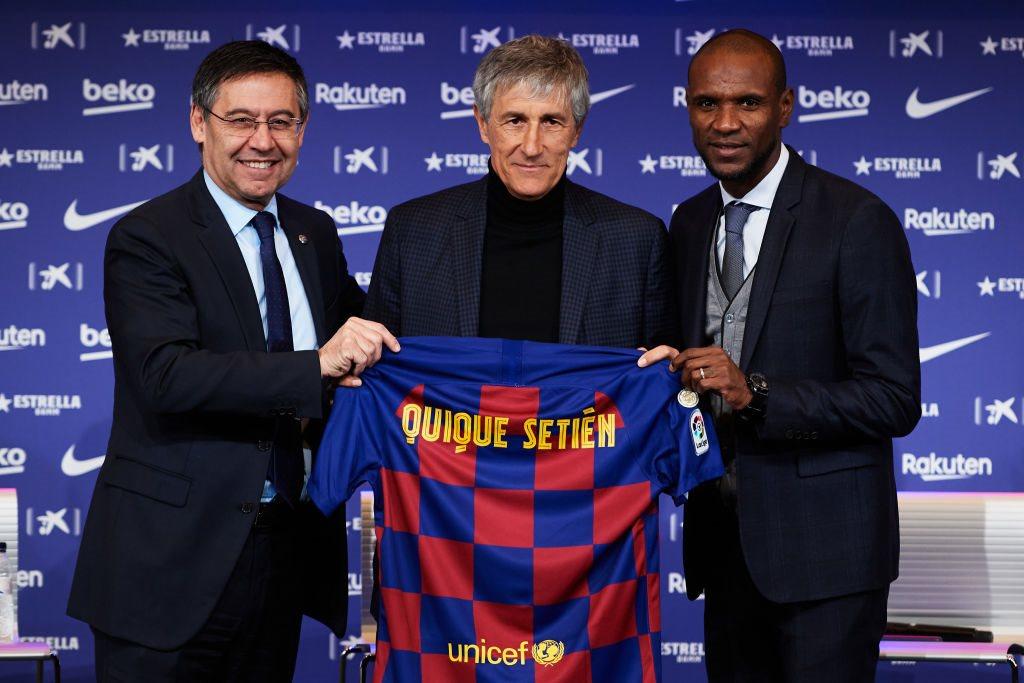 Президент, тренер, спортдир Барселоны, Getty Images