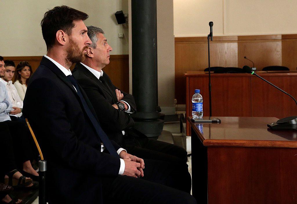 Лионель и Хорхе Месси, Getty Images