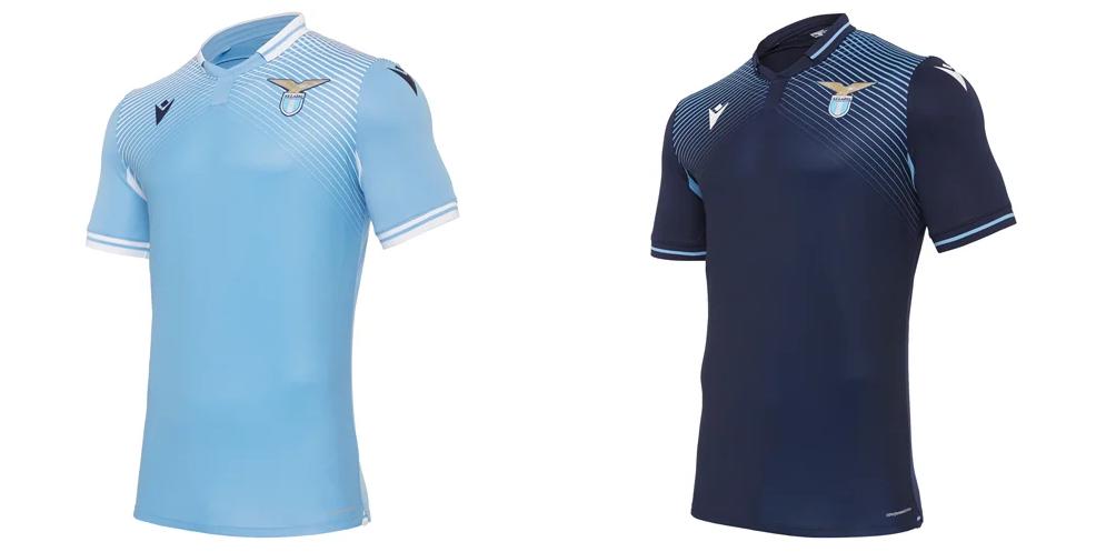 Лацио представил основной и третий комплекты формы на сезон-2020/21