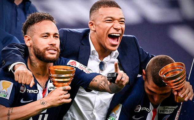 ПСЖ завоевал Кубок французской лиги в серии пенальти!