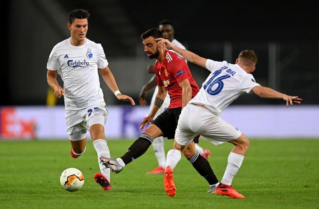 Манчестер Юнайтед с трудом обыграл Копенгаген и вышел в полуфинал Лиги Европы