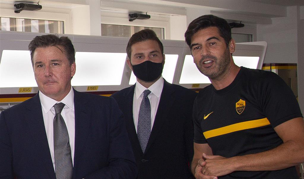 Фридкин впервые посетил Рому и пообщался с командой и сотрудниками клуба