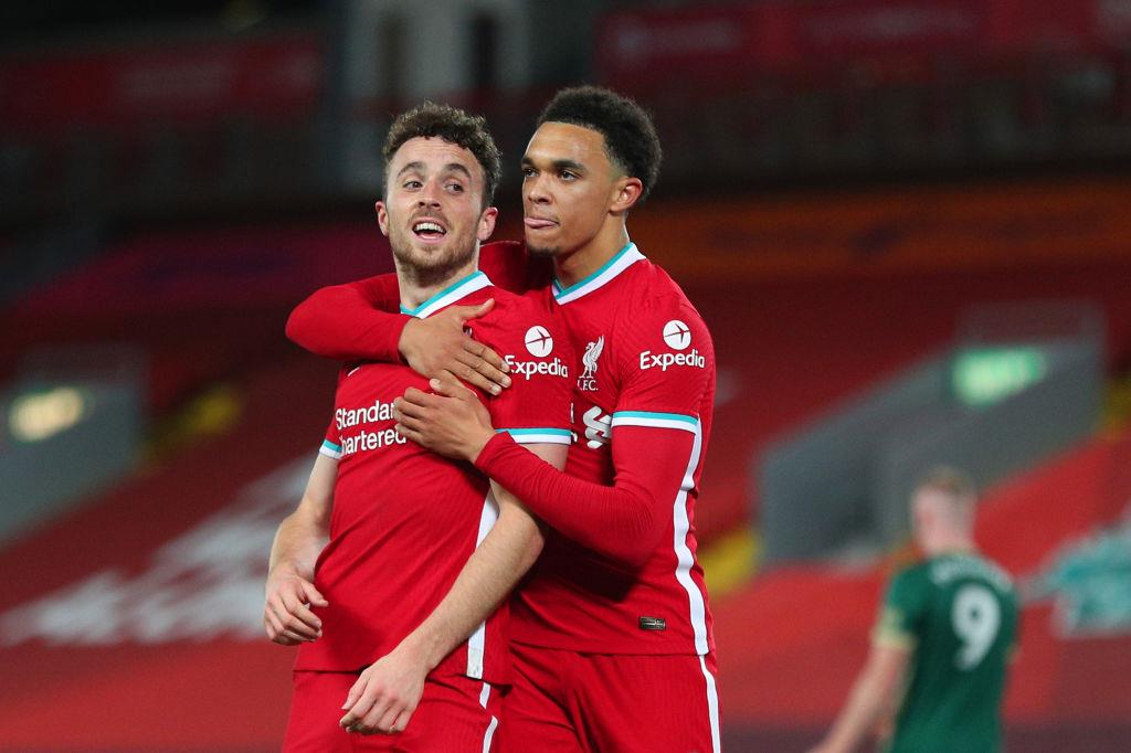 Diogo Iota and Trent Alexander-Arnold, Getty Images