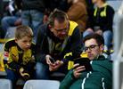 Болельщики на стадионе Боруссии