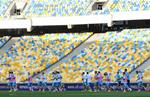 Тренировка сборной Украины