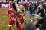 Море пива или как Бавария праздновала чемпионство