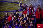 Трогательные фото Иньесты, который прощается Барселоной