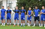 Луческу провел первую тренировку на посту главного тренера Динамо Киев