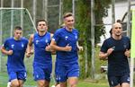 Первая тренировка Динамо при Мирче Луческу