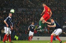 Шотландия 1:2 Уэльс