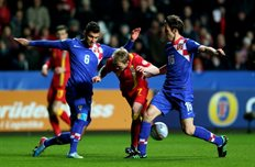 Уэльс 1:2 Хорватия