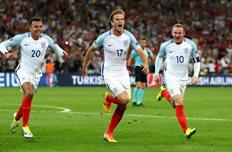 Англия 1:1 Россия