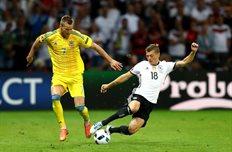 Германия 2:0 Украина