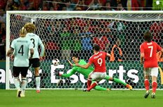 Уэльс 3:1 Бельгия