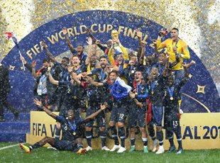 Франция победила на ЧМ-2018