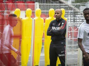 Первая тренировка Монако под руководством Тьерри Анри