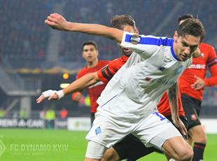 Динамо обыграло Ренн на последних минутах. Как это было