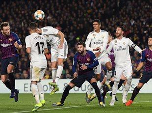 Барселона - Реал 1:1. Фото матча