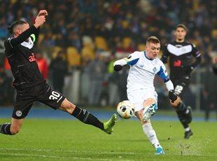 Еврокубковый провал Динамо в Лиге Европы - ничья с Лугано