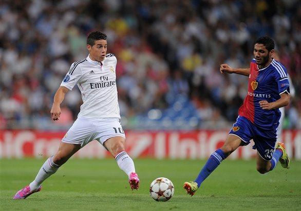 Реал Мадрид 5:1 Базель