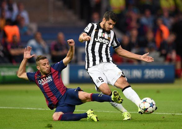 Ювентус 1:3 Барселона
