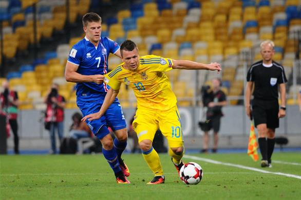 Украина 1:1 Исландия