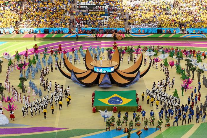 Церемония открытия ЧМ-2014