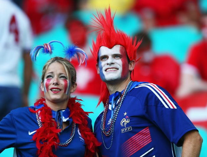 Швейцария 2:5 Франция