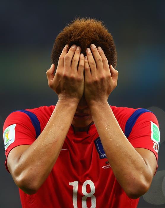 Южная Корея 2:4 Алжир