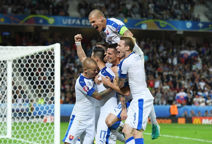 Россия 1:2 Словакия