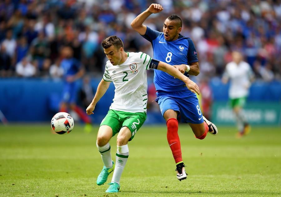 Франция 2:1 Ирландия